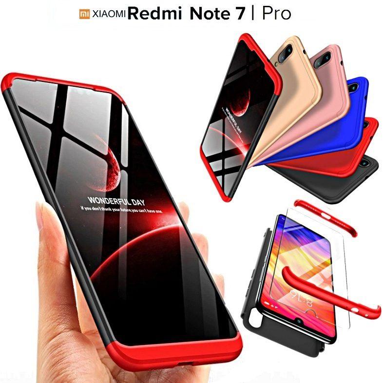 COVER per Xiaomi Mi Note 10 /Pro CUSTODIA Fronte Retro 360 ARMOR VETRO TEMPERATO