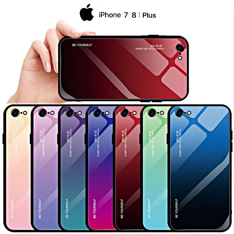 custodia vetro iphone 7 plus