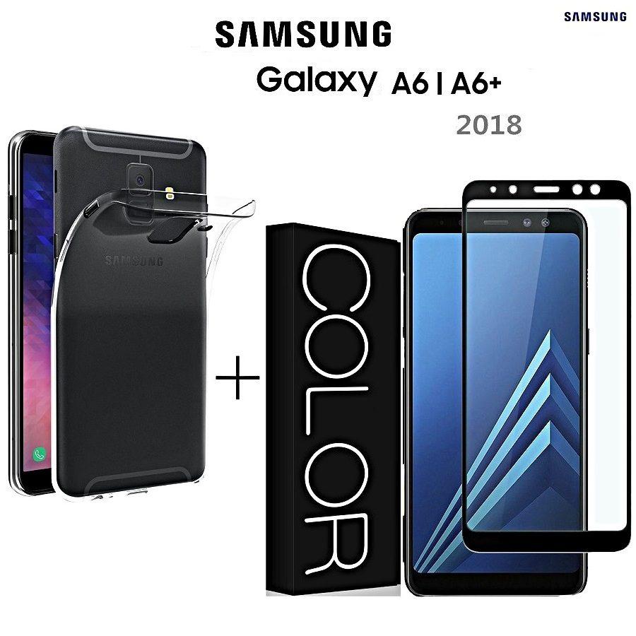 cover samsung a6 2018 vetro